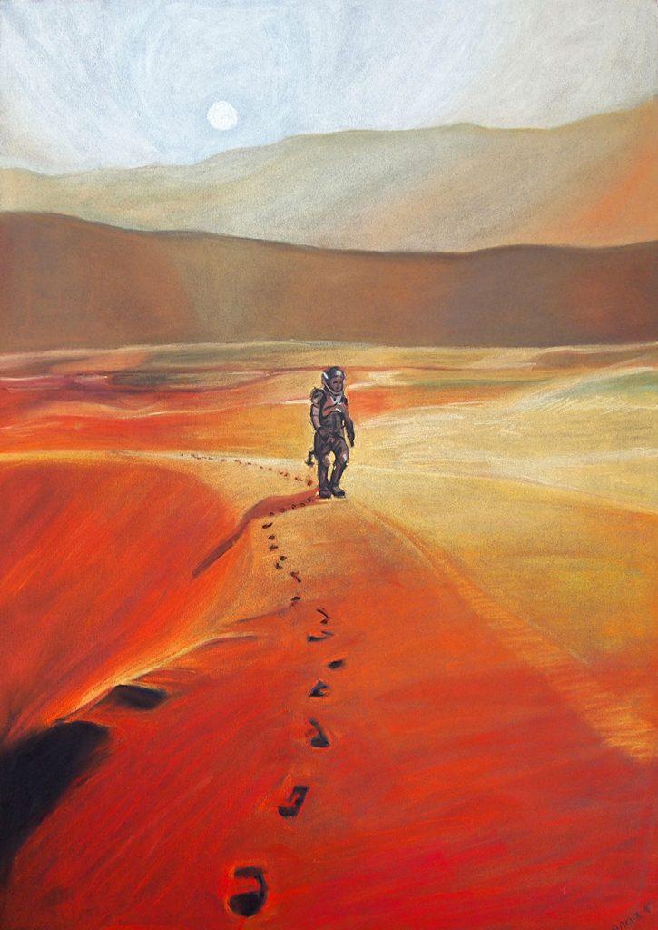 The Martian Poster Art