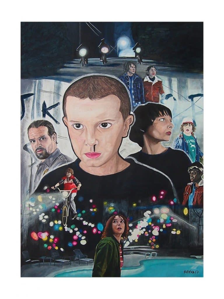 Stranger Things Art Poster