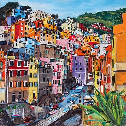 Italy painting