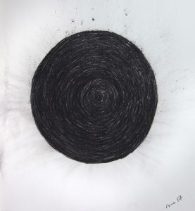 Abstract art drawing