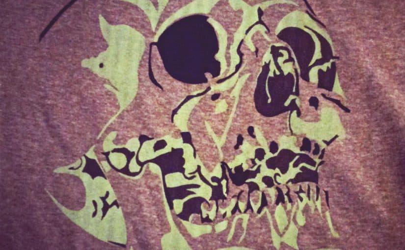 Skull Silkscreen Print