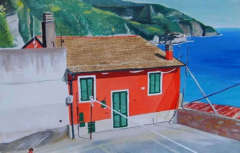 Italian village basketball